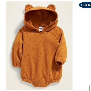 NWT Old Navy Bear Onesie Outfit